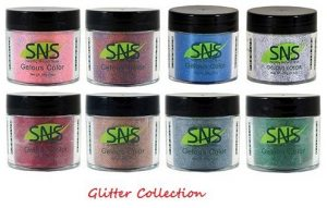 SNS Nail dipping powder Gelous color - 9 Colors DESIGN SERIES