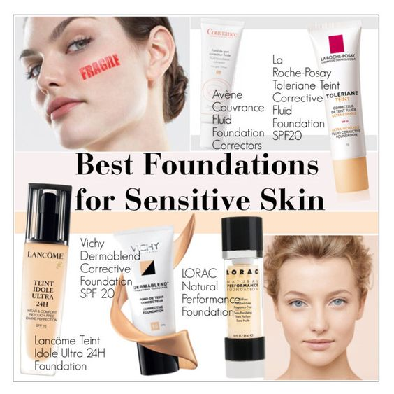 Best Foundations For Sensitive Skin
