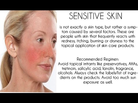 know about sensitive skin