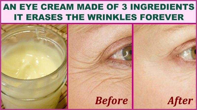 Ingredients are in the Best Eye Wrinkle Eye Creams