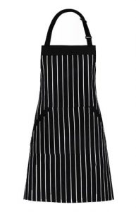 Adjustable Bib Apron with Pockets
