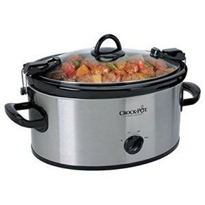 Crock-Pot Cook' N Carry 6-Quart Manual Slow Cooker