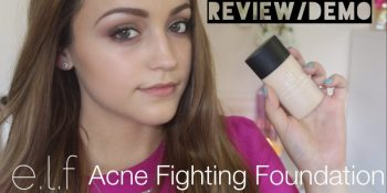 Elf Acne Fighting Foundation Reviews