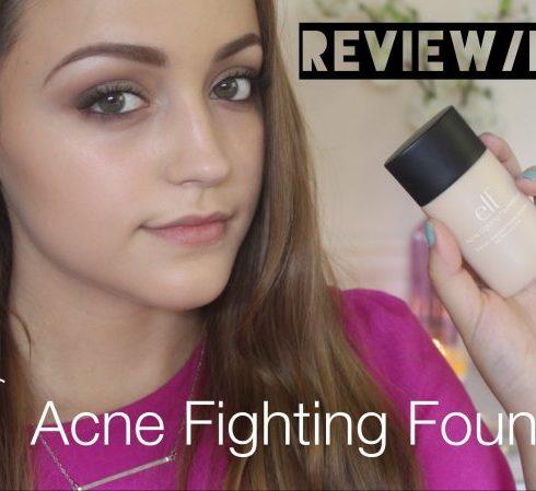 Elf Acne Fighting Foundation Reviews