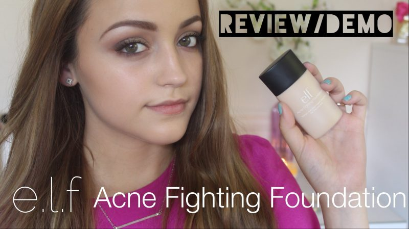 Elf Acne Fighting Foundation: Foundation for Your Acne-Prone Skin