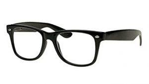 Goson Vintage Hipster Nerd Wayfarer 57mm Glasses