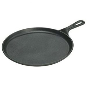Lodge Seasoned Cast Iron Skillet