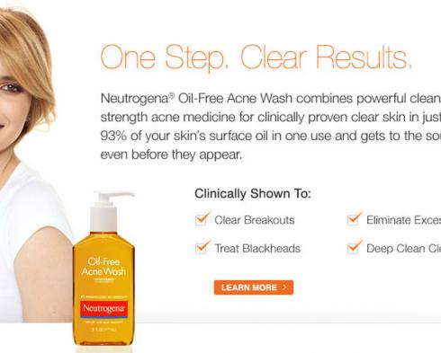 Neutrogena Oil Free Acne Wash Reviews
