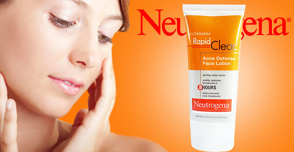Neutrogena Rapid Clear Acne Defense Lotion: How Does it Work on the Skin?