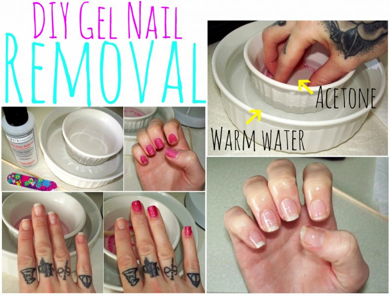 DIY Gel Polish Removal With Acetone