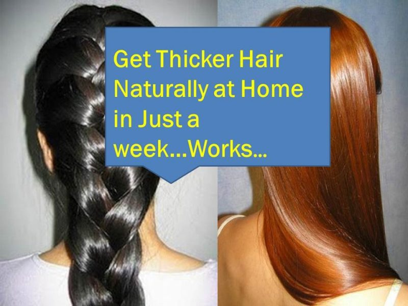 How to make your hair fuller and thicker
