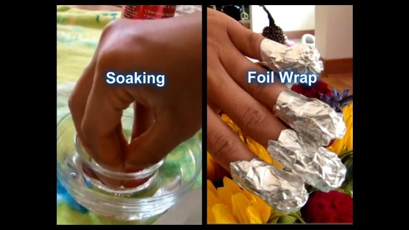 How to remove soak-off gel polish