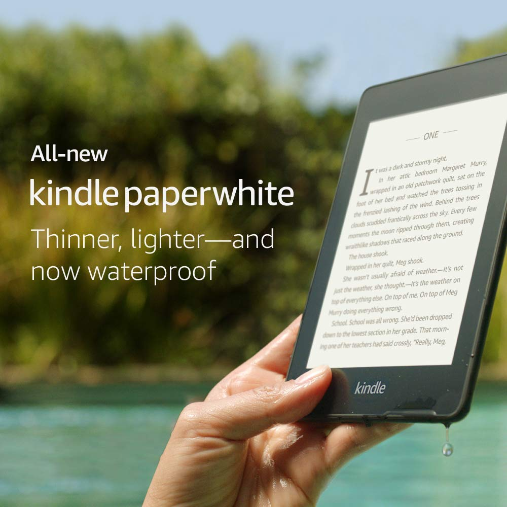 All-new Kindle Paperwhit
