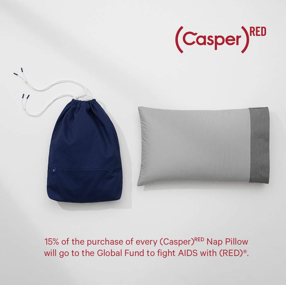 (CASPER) RED Nap Pillow
