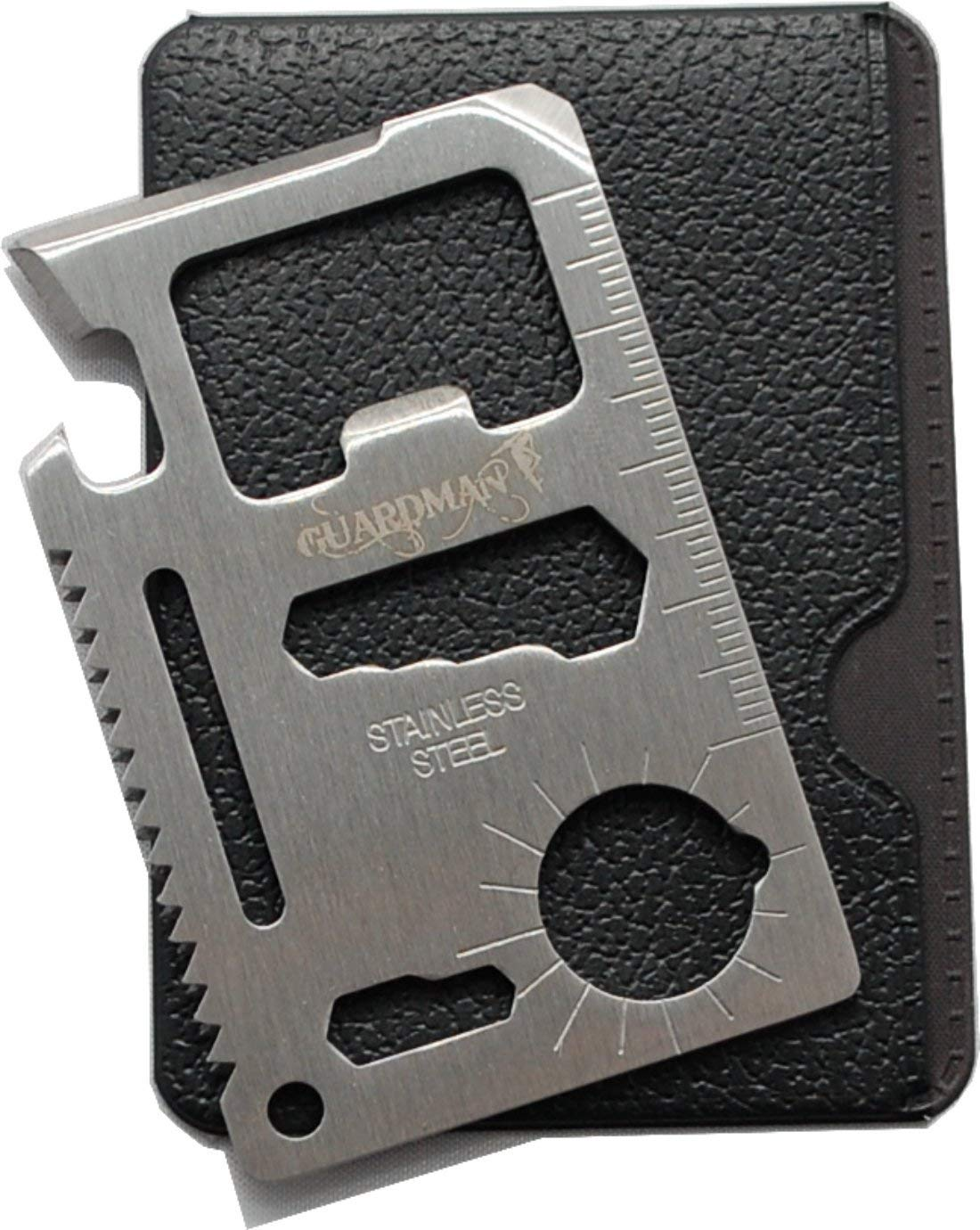 Guardman 11 in 1 Beer Opener Survival Credit Card