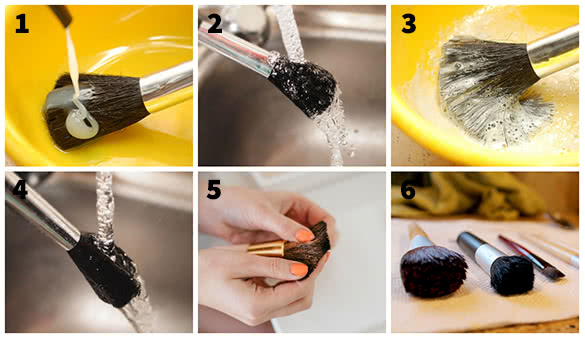 How To Clean Makeup Brushes2