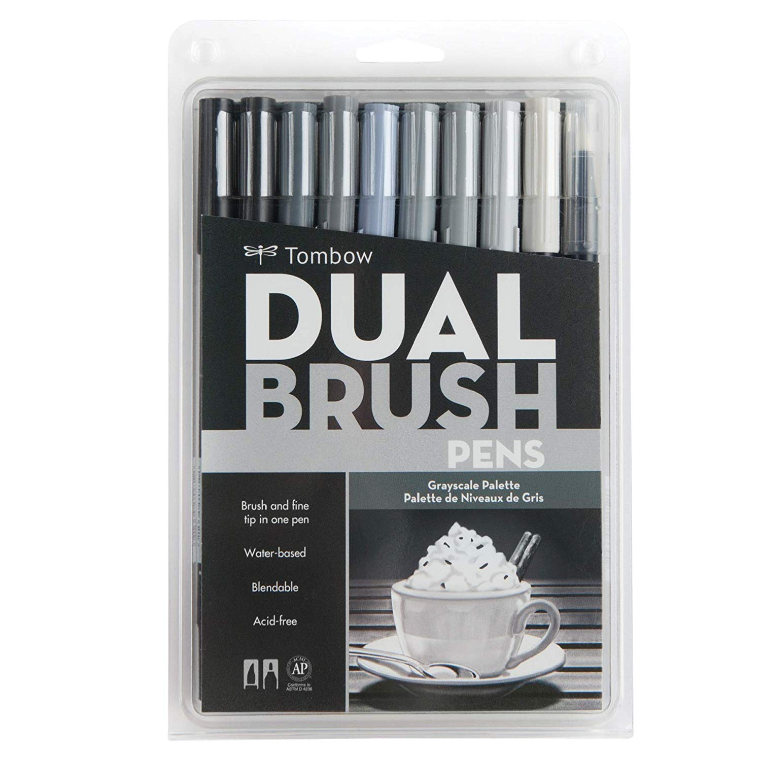 Tombow 56171 Dual Brush Pen Art Markers