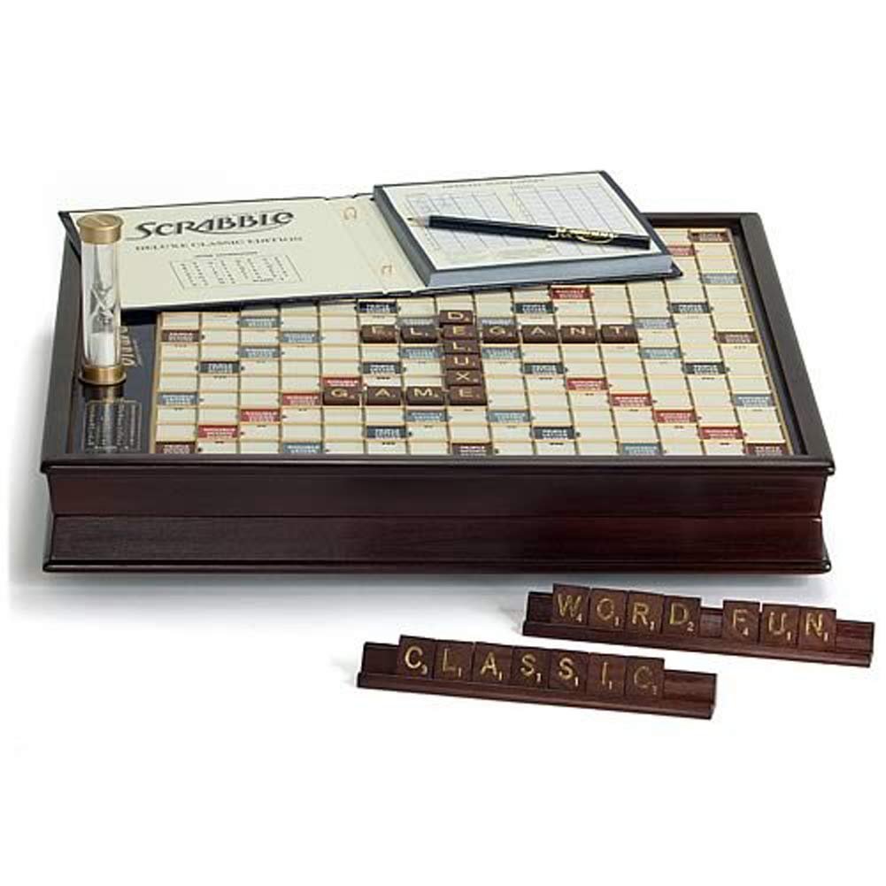 Winning Solutions Scrabble Deluxe Wooden
