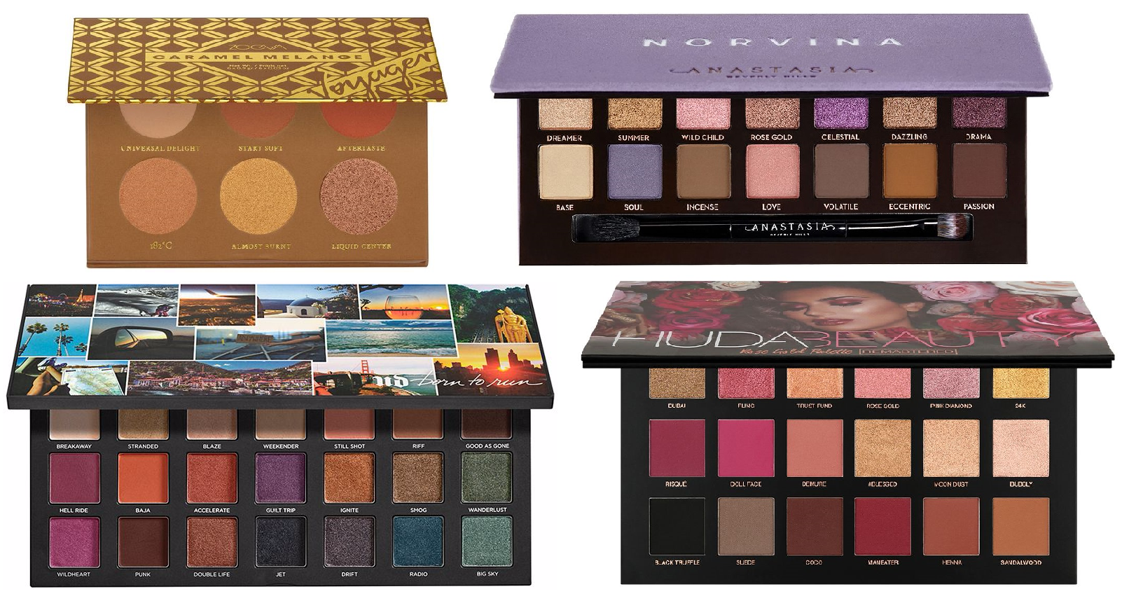 10 Best Eyeshadow Palettes Eye Makeup Palettes For 2020