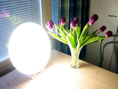 Bright Light Therapy Lamp Health Benefits
