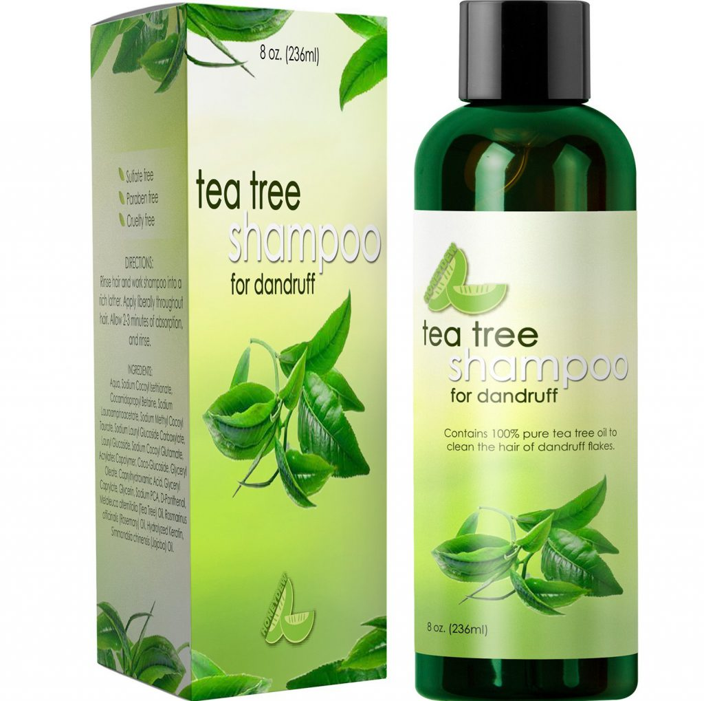 Dandruff Shampoo with Tea Tree Oil